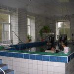 бассейн для подводной вытяжки