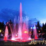 Вечірній фонтан