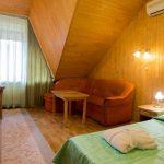 1-кімнатний 1-місний номер, 5-й мансардний поверх, корпус Сузіря